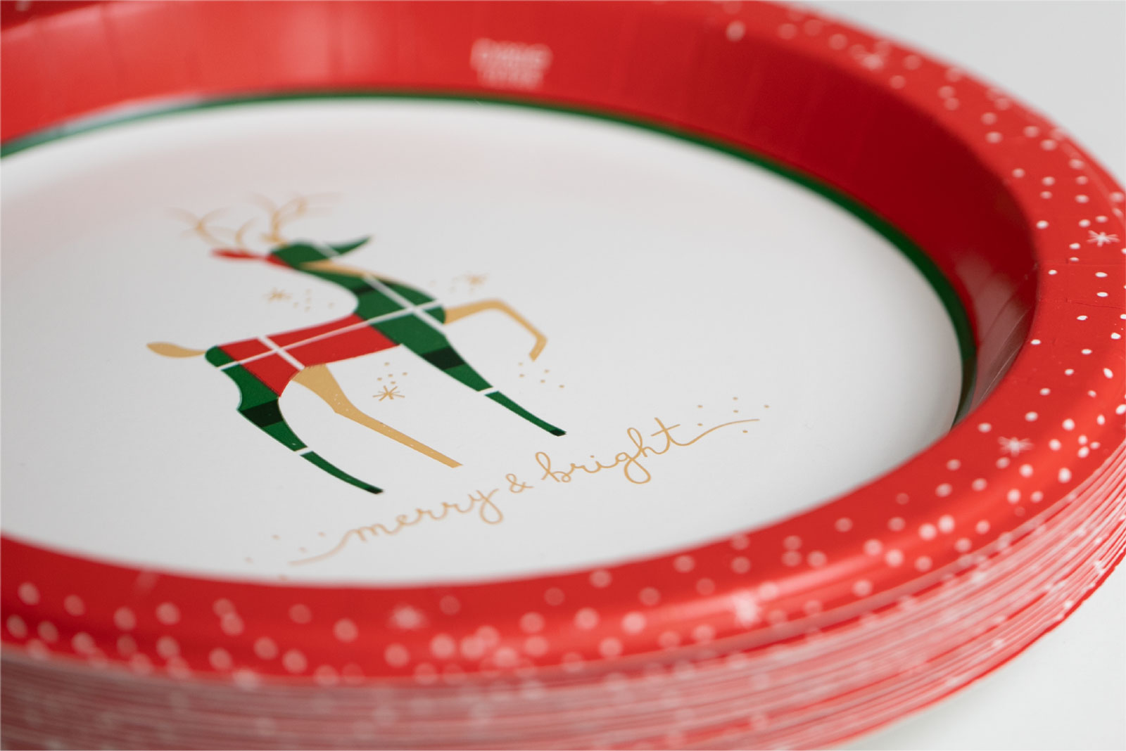 Dixie Holiday Plates - Surface Design