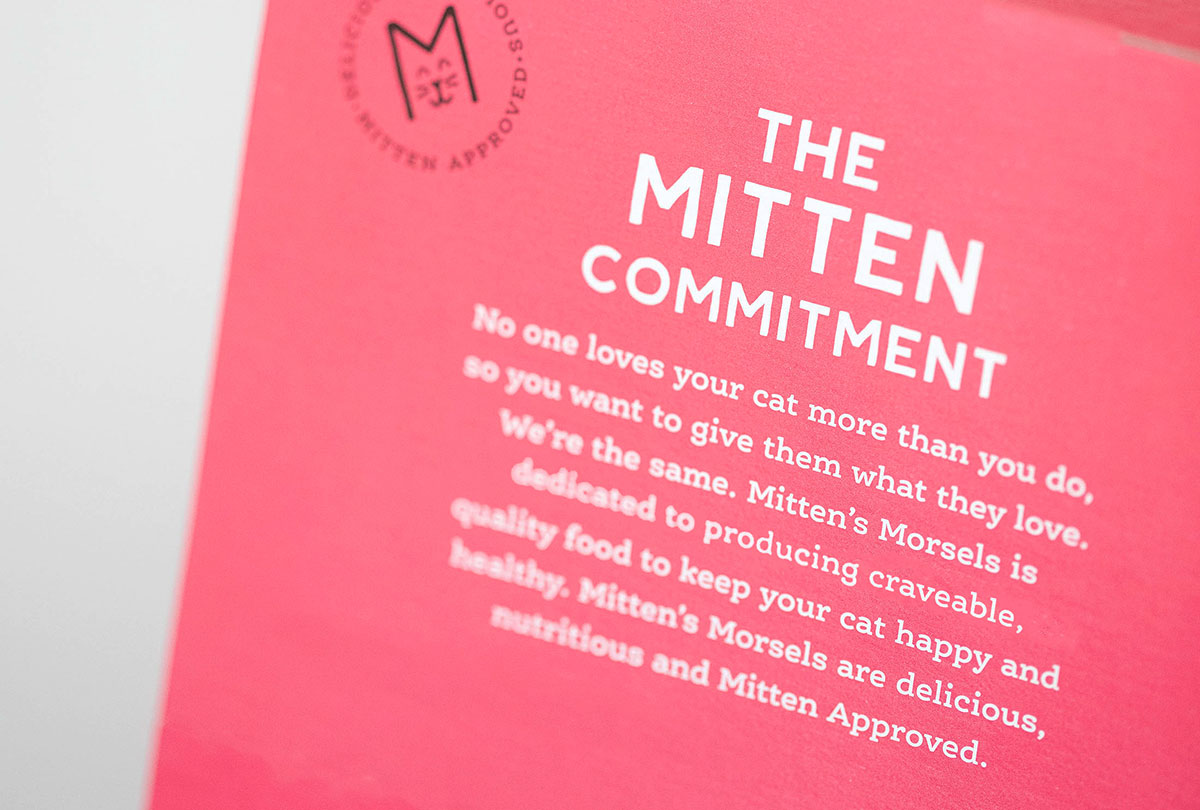 Mitten's Morsels - Packaging Design - Label