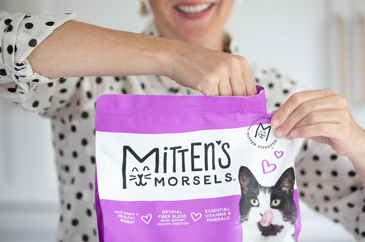 Mitten's Morsels - Pet Food Packaging - Bag