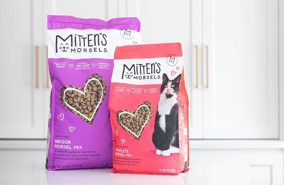 Mitten's Morsels - Pet Food Packaging - Bags