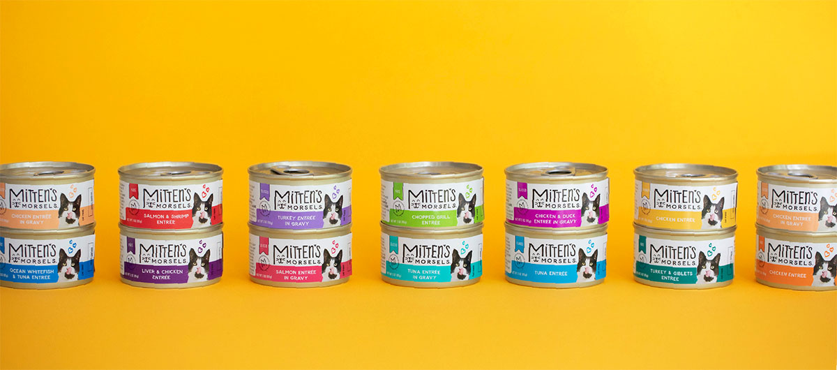 Mitten's Morsels - Pet Food Packing - Wet Food