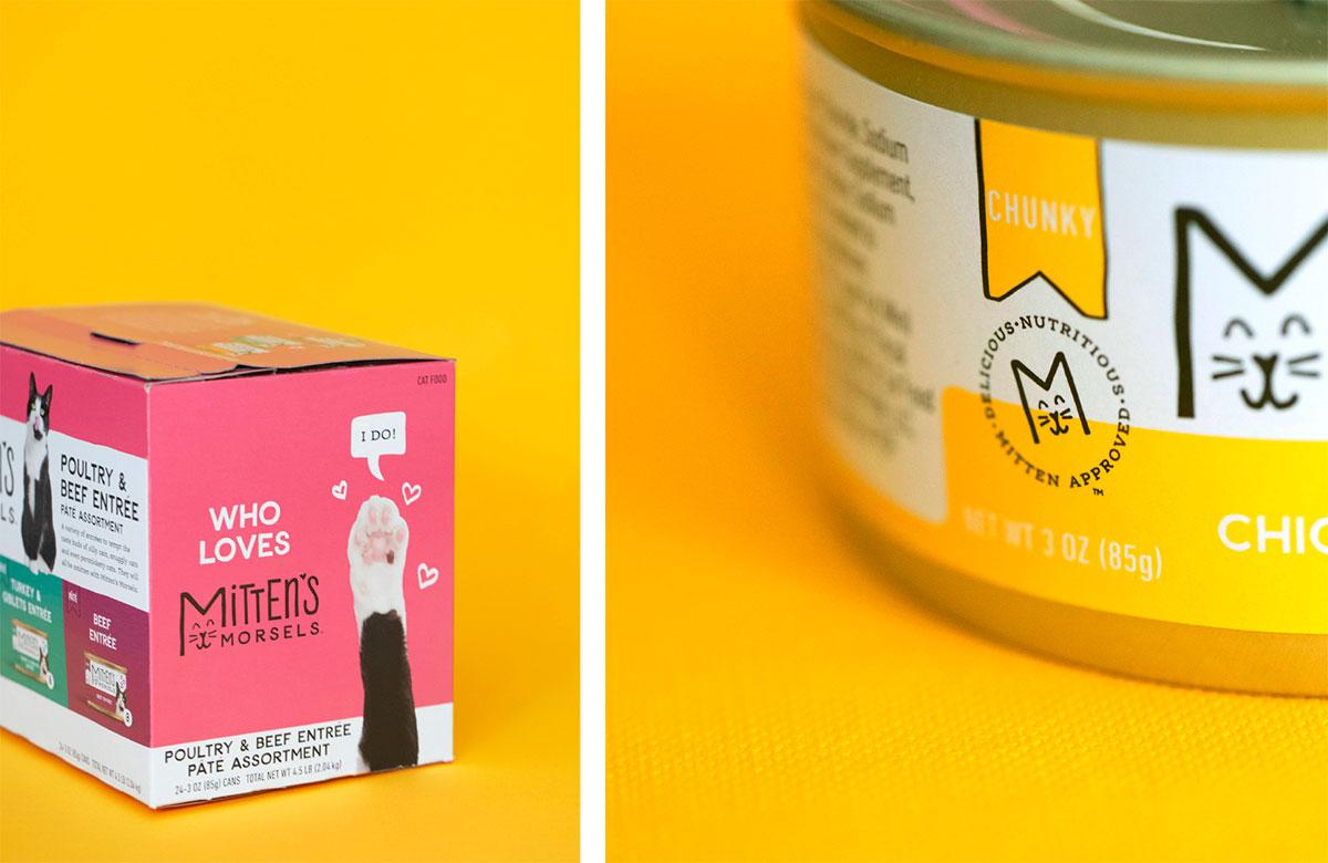 Mitten's Morsels - Pet Food Packaging - Assortment