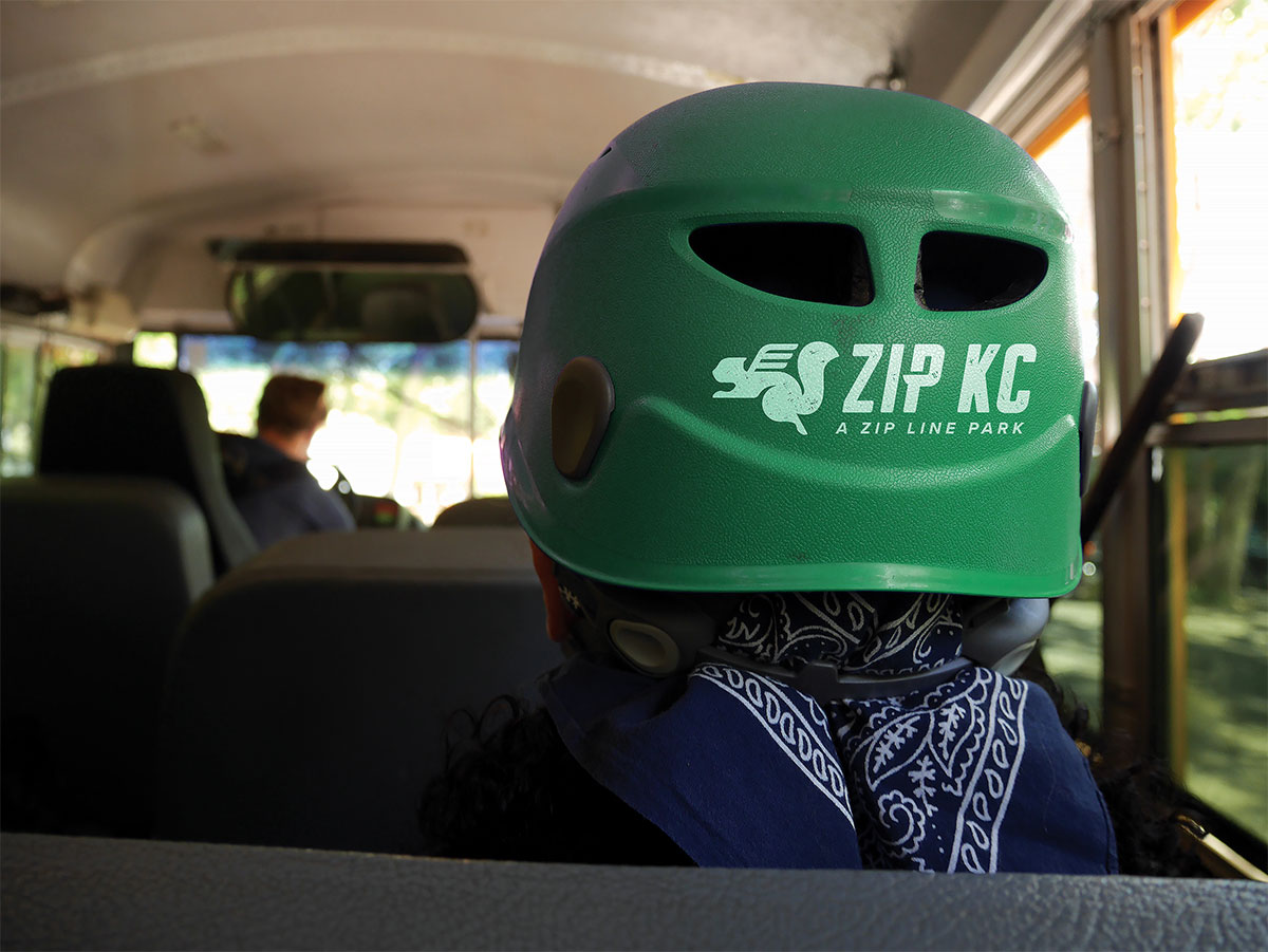 ZIP KC - Helmet - Recreation Brand Identity