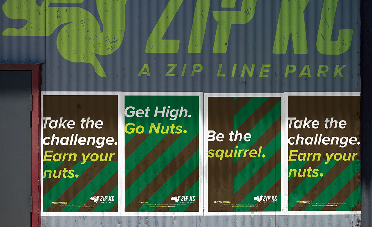 ZIP KC - Posters - Recreation Brand Identity