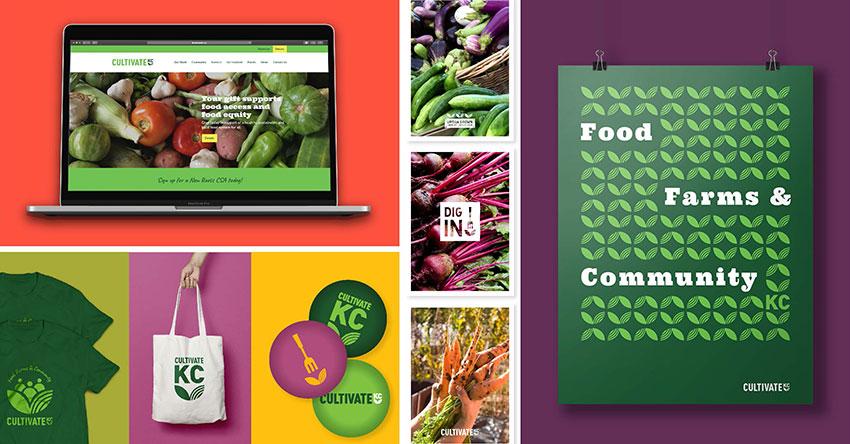 A15 - Cultivate KC Board - Non Profit Brand Identity