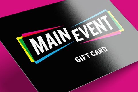 Main Event - Featured Image - Entertainment Brand Identity