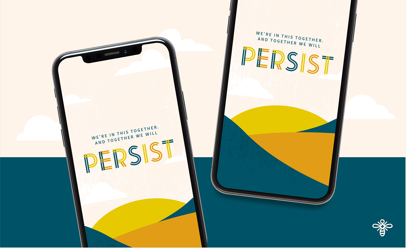 Persist Wallpaper - Willoughby Design - Brand Design KC