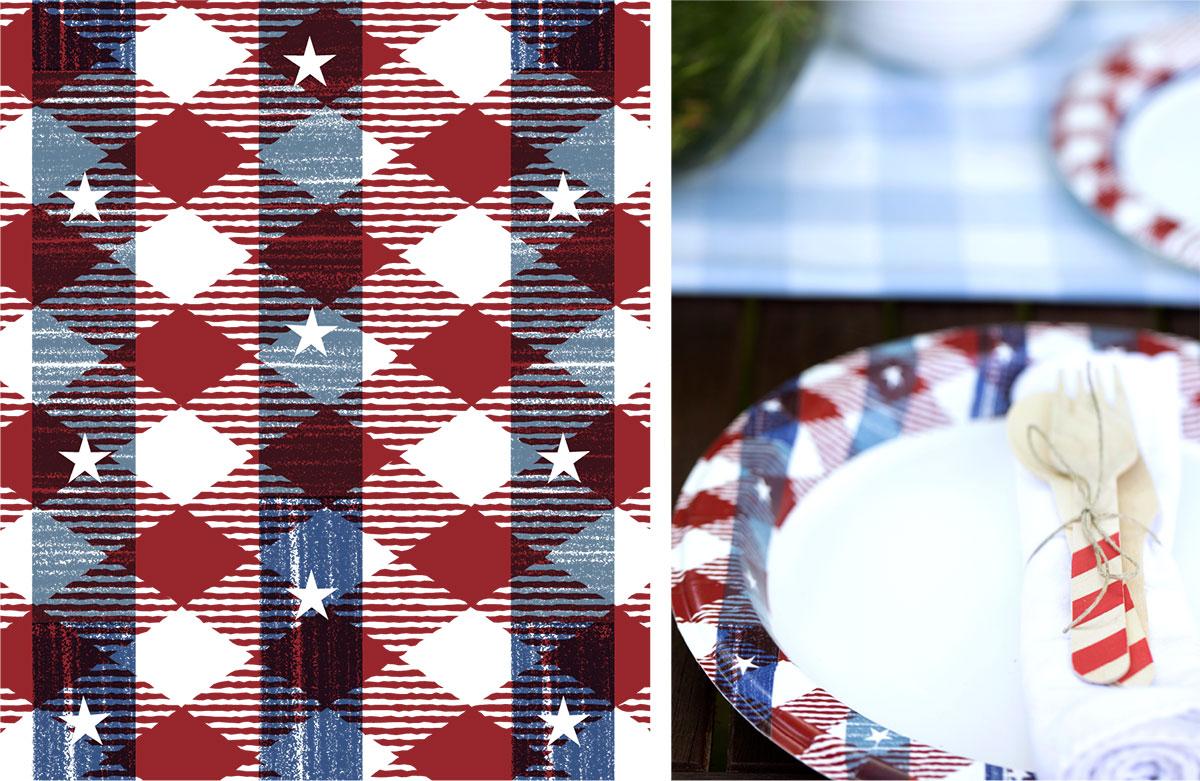 Dixie Ultra Patriotic - Surface Design