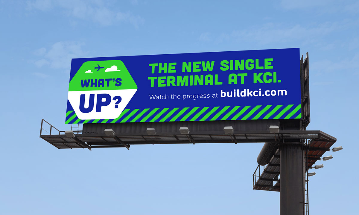 Build KCI - Aviation Brand Identity - Billboard