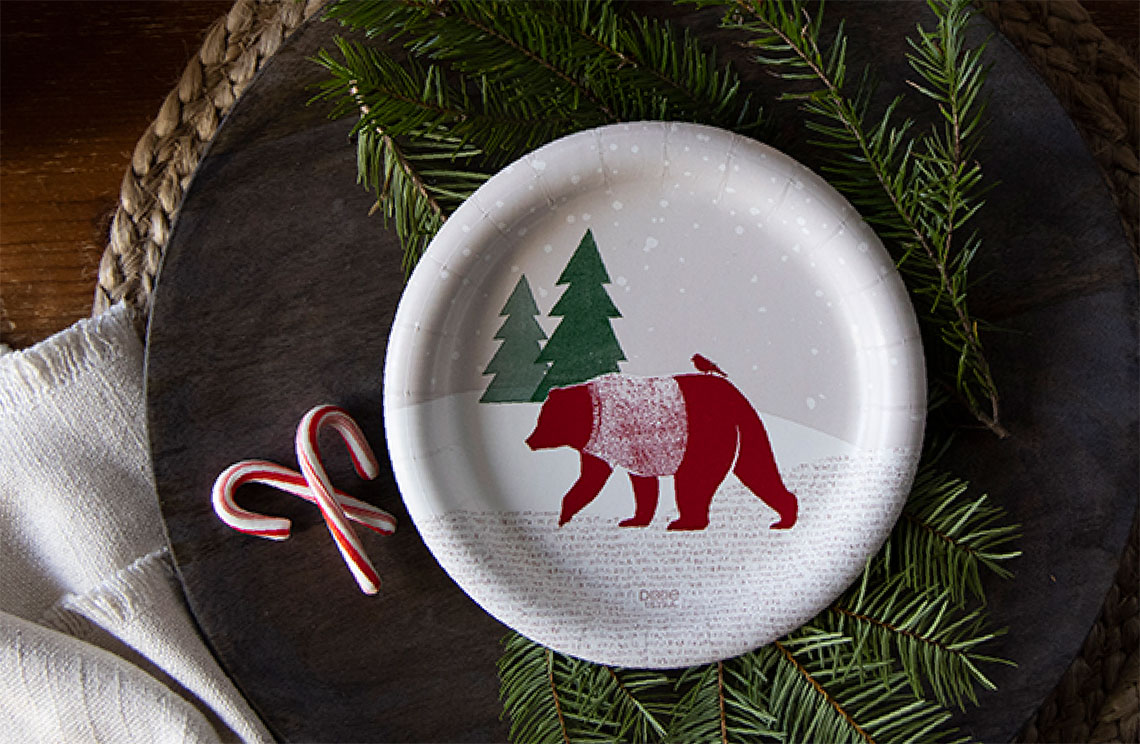 Dixie Ultra Holiday Collection 2020 - Plate