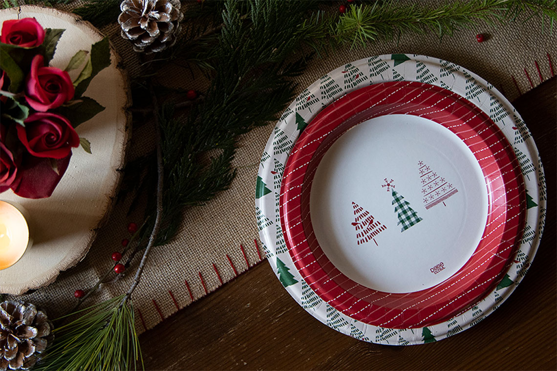 Dixie Ultra Holiday Collection 2020 - Plates
