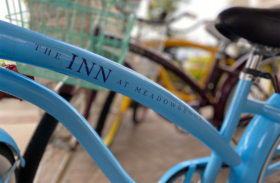The Inn at Meadowbrook Room Bike - Hospitality Brand Identity