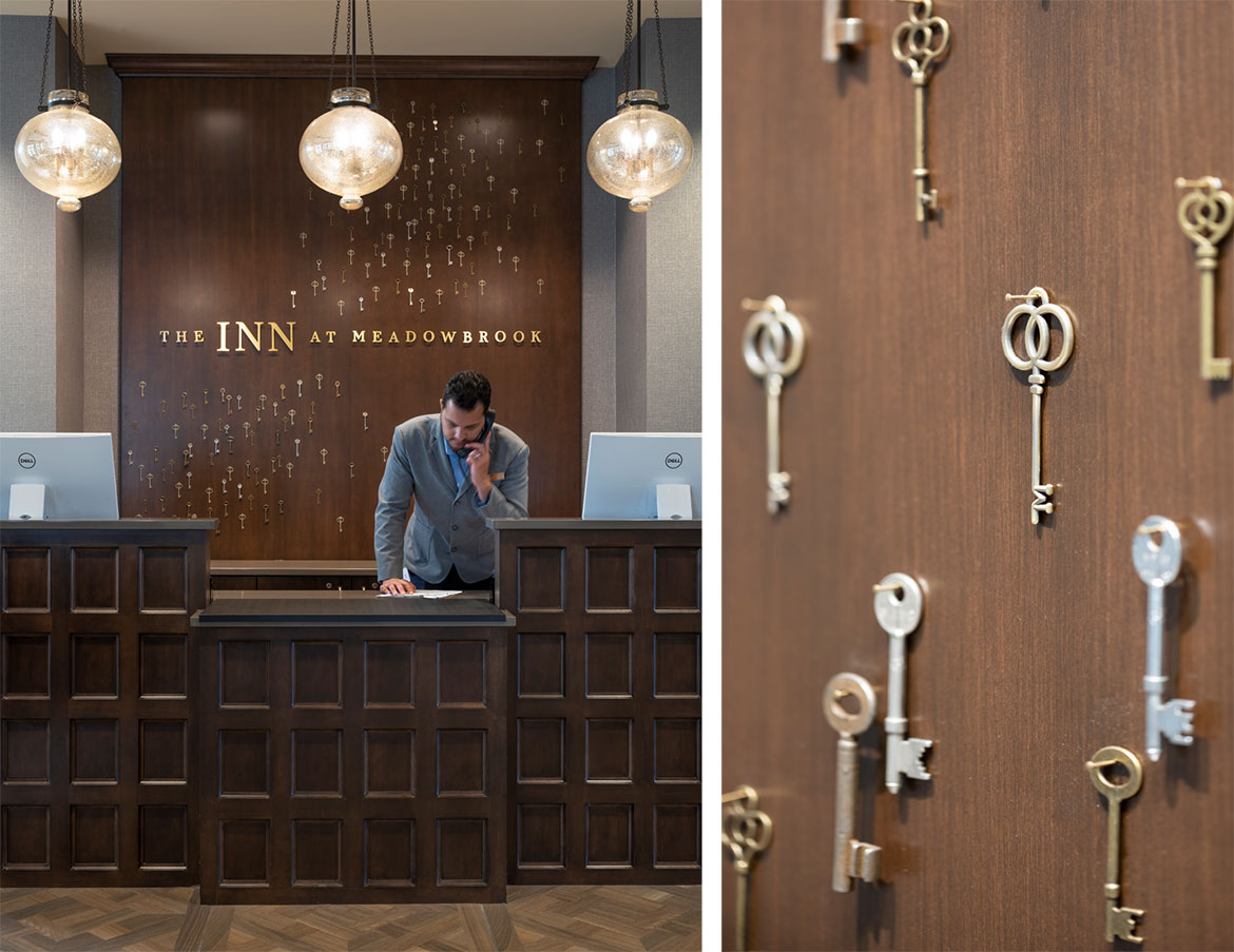 The Inn at Meadowbrook Key Wall - Hospitality Brand Identity