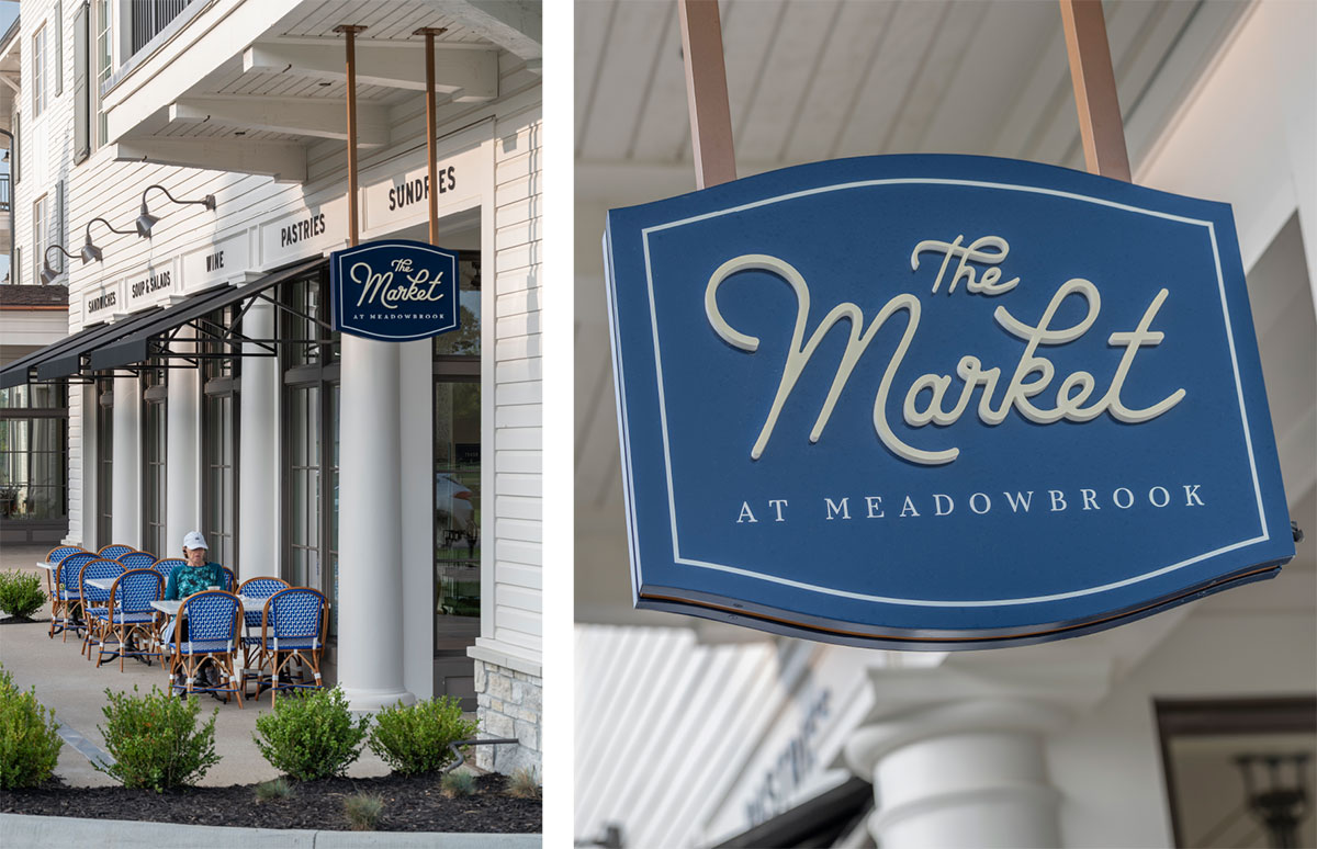 The Market at Meadowbrook - Signage